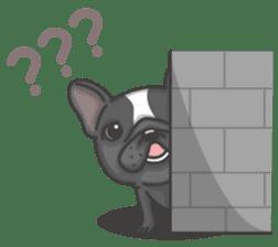 Raven the French Bulldog sticker #8695931