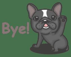 Raven the French Bulldog sticker #8695939