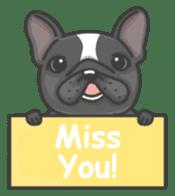 Raven the French Bulldog sticker #8695945