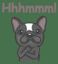 Raven the French Bulldog sticker #8695949