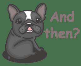 Raven the French Bulldog sticker #8695952