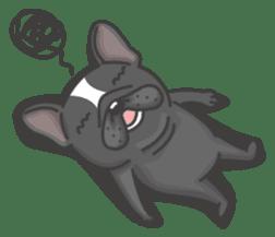 Raven the French Bulldog sticker #8695953