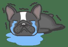 Raven the French Bulldog sticker #8695954
