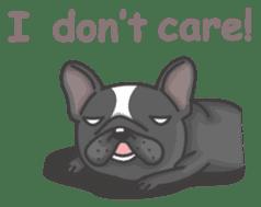 Raven the French Bulldog sticker #8695956