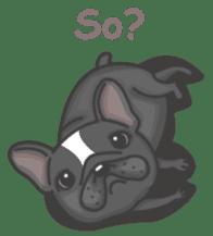 Raven the French Bulldog sticker #8695958