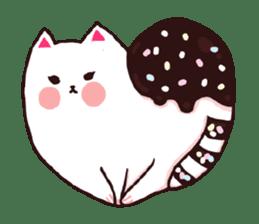 Candy cat & Little waffle sticker #8696002