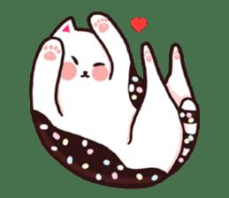 Candy cat & Little waffle sticker #8696003