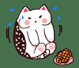 Candy cat & Little waffle sticker #8696006