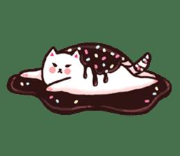 Candy cat & Little waffle sticker #8696008