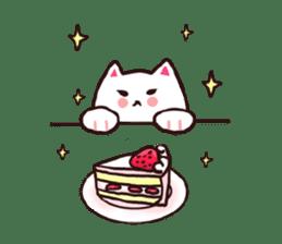 Candy cat & Little waffle sticker #8696010