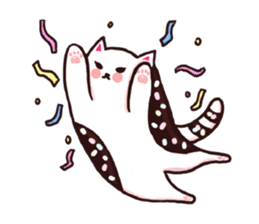 Candy cat & Little waffle sticker #8696011