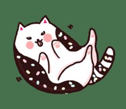 Candy cat & Little waffle sticker #8696016