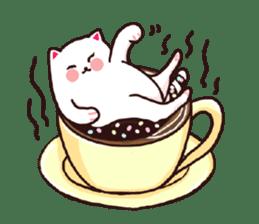 Candy cat & Little waffle sticker #8696027