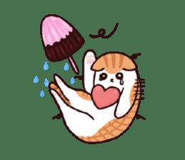 Candy cat & Little waffle sticker #8696033