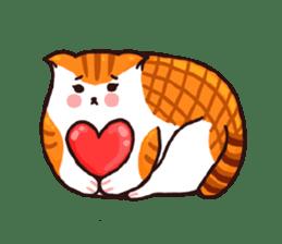 Candy cat & Little waffle sticker #8696040