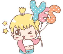 Boobib Baby Boy sticker #8700930