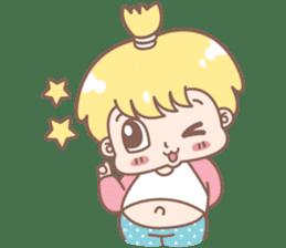 Boobib Baby Boy sticker #8700947
