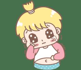 Boobib Baby Boy sticker #8700953