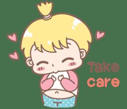 Boobib Baby Boy sticker #8700955