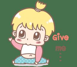 Boobib Baby Boy sticker #8700958