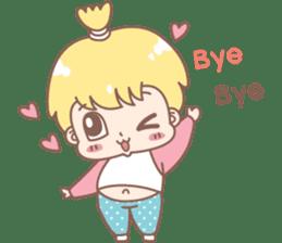 Boobib Baby Boy sticker #8700961