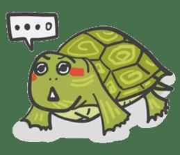 Turtles like to sleep sticker #8712012