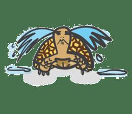 Turtles like to sleep sticker #8712026