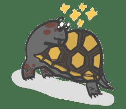 Turtles like to sleep sticker #8712029