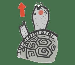 Turtles like to sleep sticker #8712031