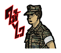 Thai Marine sticker #8713269