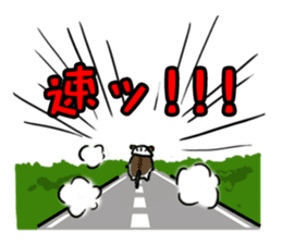 Takitarou bike stickers sticker #8716104