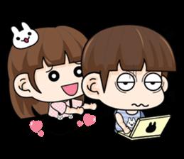 couples in love (EN) sticker #8717473