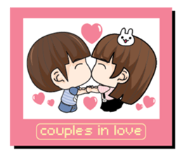 couples in love (EN) sticker #8717489
