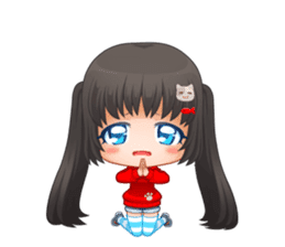 Nyao Nyanko sticker #8719353