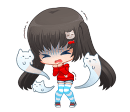 Nyao Nyanko sticker #8719363