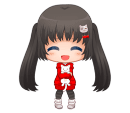 Nyao Nyanko sticker #8719367