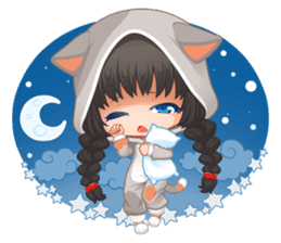 Nyao Nyanko sticker #8719368