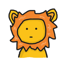 Shanga The Lion Full Expression sticker #8719931