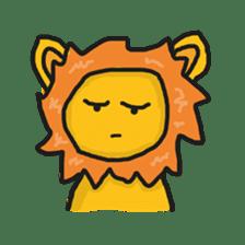 Shanga The Lion Full Expression sticker #8719933