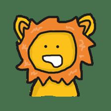 Shanga The Lion Full Expression sticker #8719937