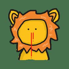 Shanga The Lion Full Expression sticker #8719938