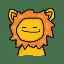 Shanga The Lion Full Expression sticker #8719939