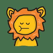 Shanga The Lion Full Expression sticker #8719941