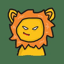 Shanga The Lion Full Expression sticker #8719943