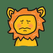 Shanga The Lion Full Expression sticker #8719944