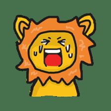 Shanga The Lion Full Expression sticker #8719945