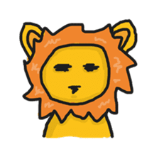 Shanga The Lion Full Expression sticker #8719946