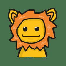Shanga The Lion Full Expression sticker #8719948