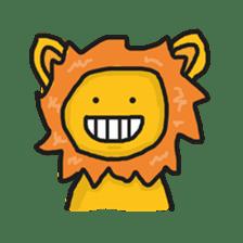 Shanga The Lion Full Expression sticker #8719950