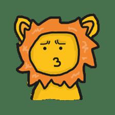 Shanga The Lion Full Expression sticker #8719951